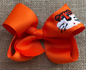 Auburn Tiger Hair Bow