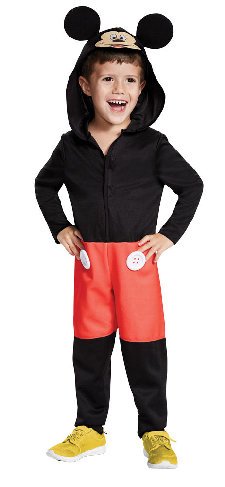 Disguise Mickey Mouse Toddler Child Costume, Red, Medium/(3T-4T)