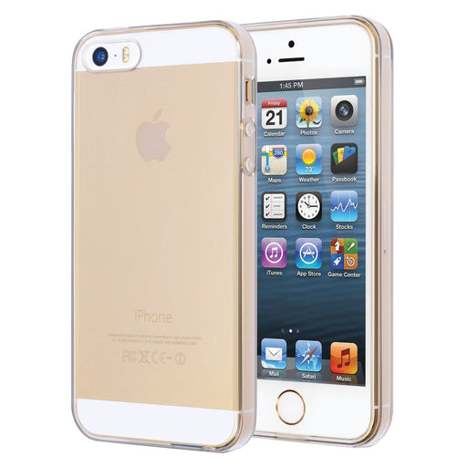 V7 PD20C-5S-14N Slim Clear Case for iPhone 5s and 5 - Light and Sleek Design in Clear Finish