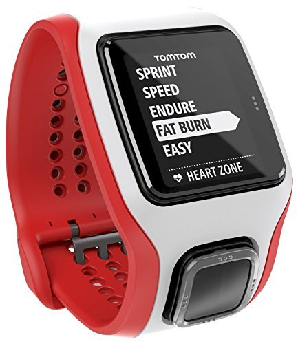 TomTom Runner Cardio (White) (Discontinued by Manufacturer)