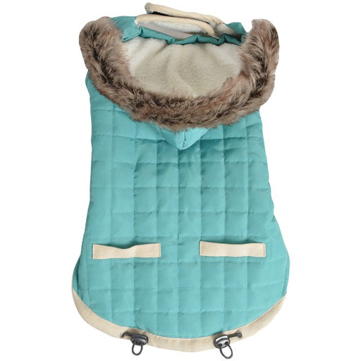 Animal Planet Puffy Jacket, Teal, Large
