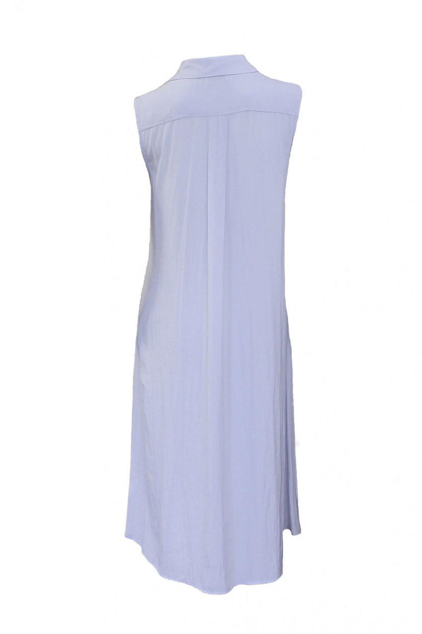 Vapour Back Mela Purdie Sleeveless Shirt Dress Style and Grace