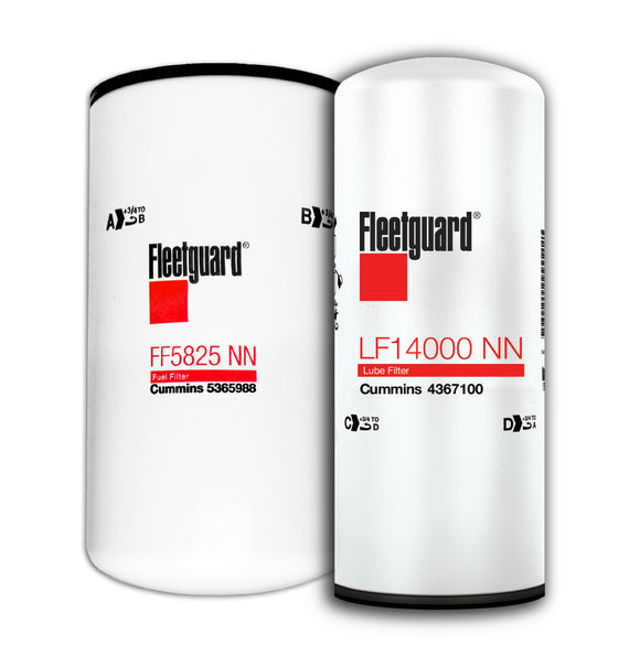 X15 Filter Package - LF14000NN and FF5825NN