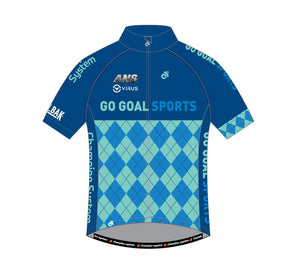 Cycling - Apex lite jersey (Blue / Pink)
