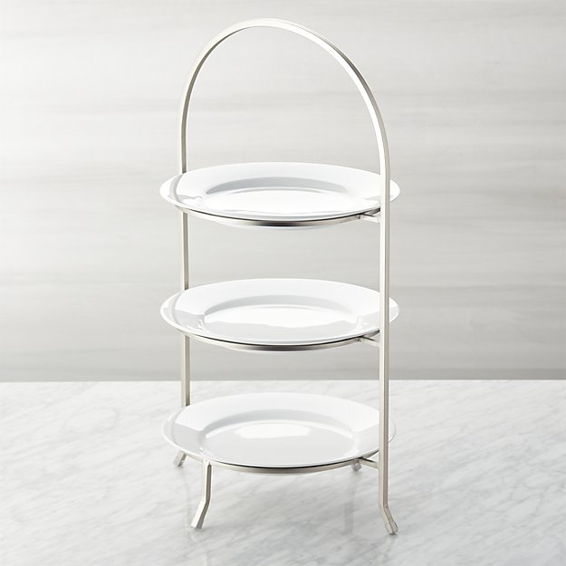 3-Tier Stand With Plates