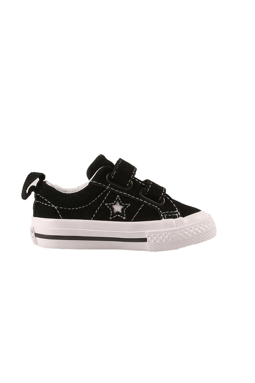 Toddler One Star 2V Low Top Black