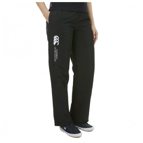 Open Hem Stadium Pant - Black