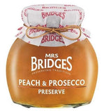 PEACH AND PROSECCO PRESERVE