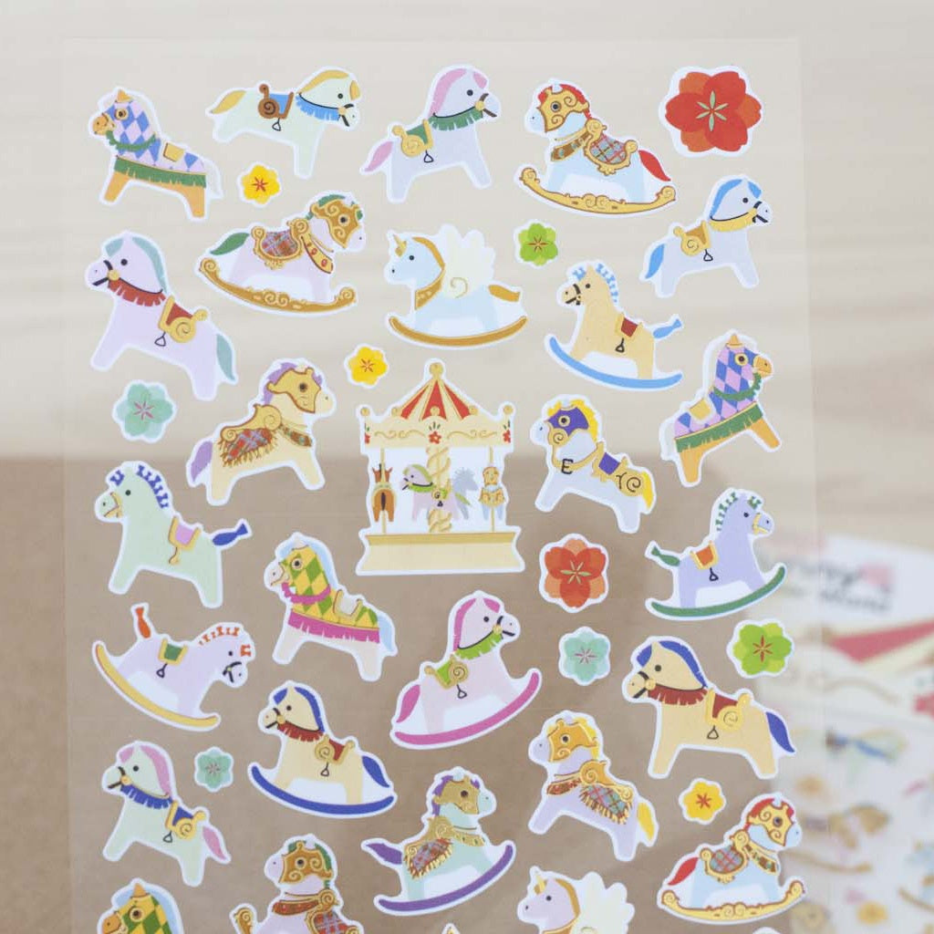 Stickers Merry Go Round