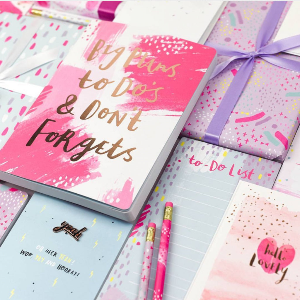 "Cuaderno Luxury ""Big Plans"""