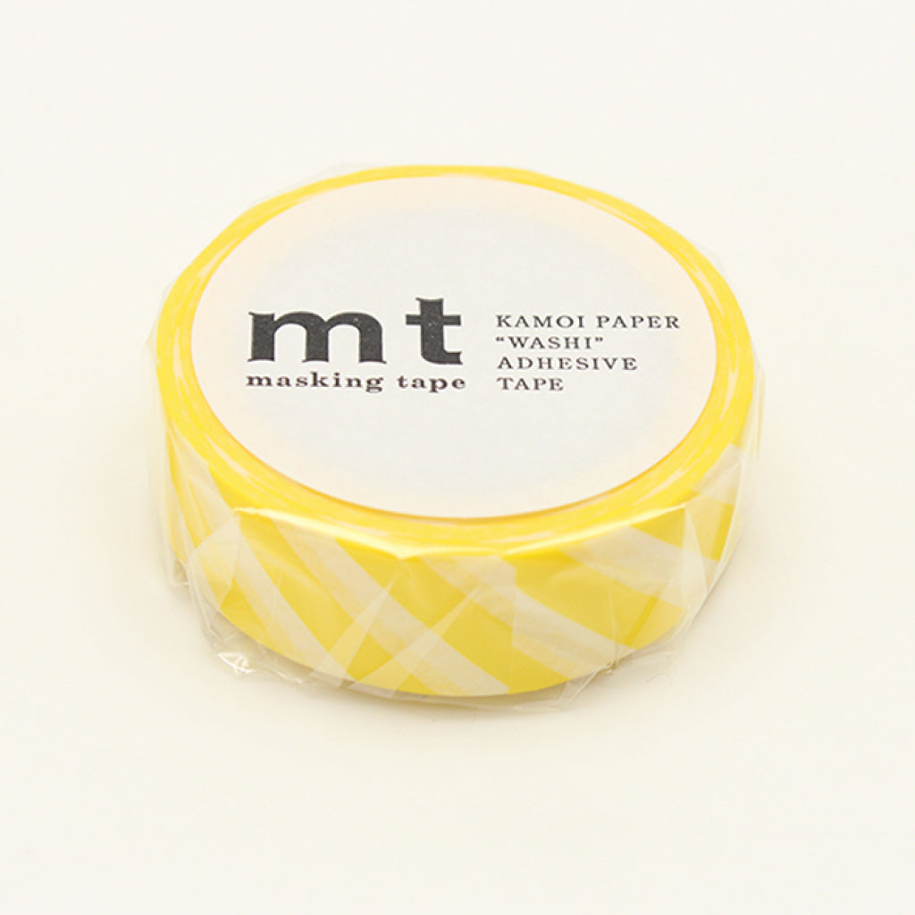 MT Masking Tape Stripe Lemon