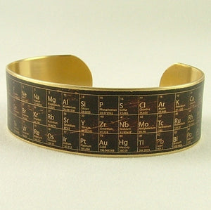 Periodic Table of Elements Cuff Bracelet