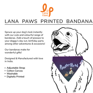 'Pawtterhead' Harry Potter - Adjustable Dog Bandana