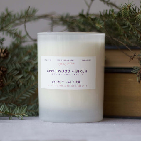 Applewood + Birch Candle