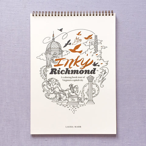 Inky Richmond Coloring Book