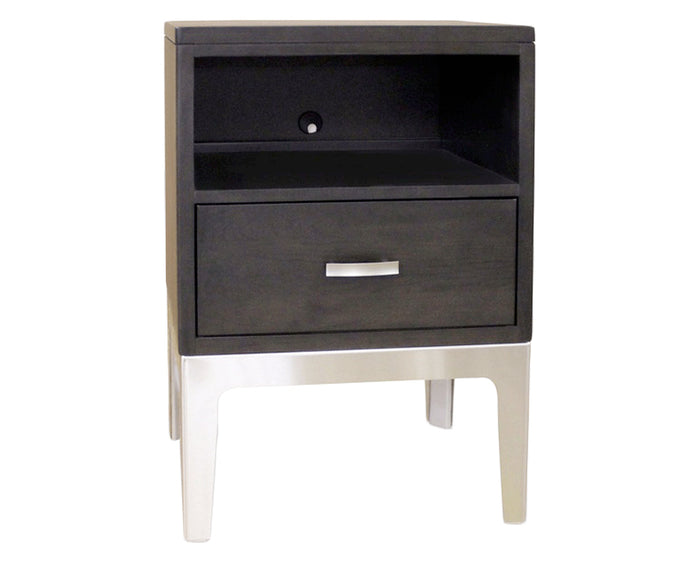 Molten Night | Durham Defined Distinction 1 Drawer Night Stand