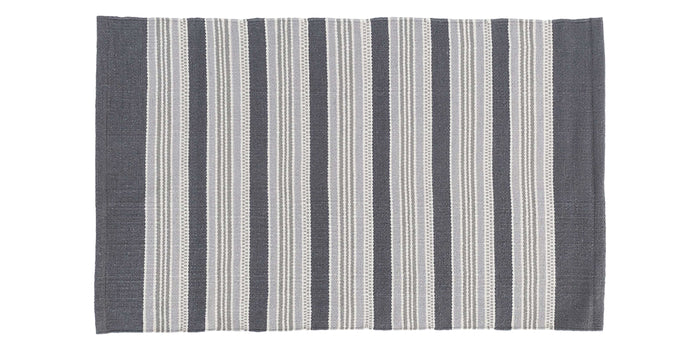 Grey Stripe | Dash & Albert Akono Rug