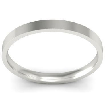 Domed Palladium Wedding Band for Women