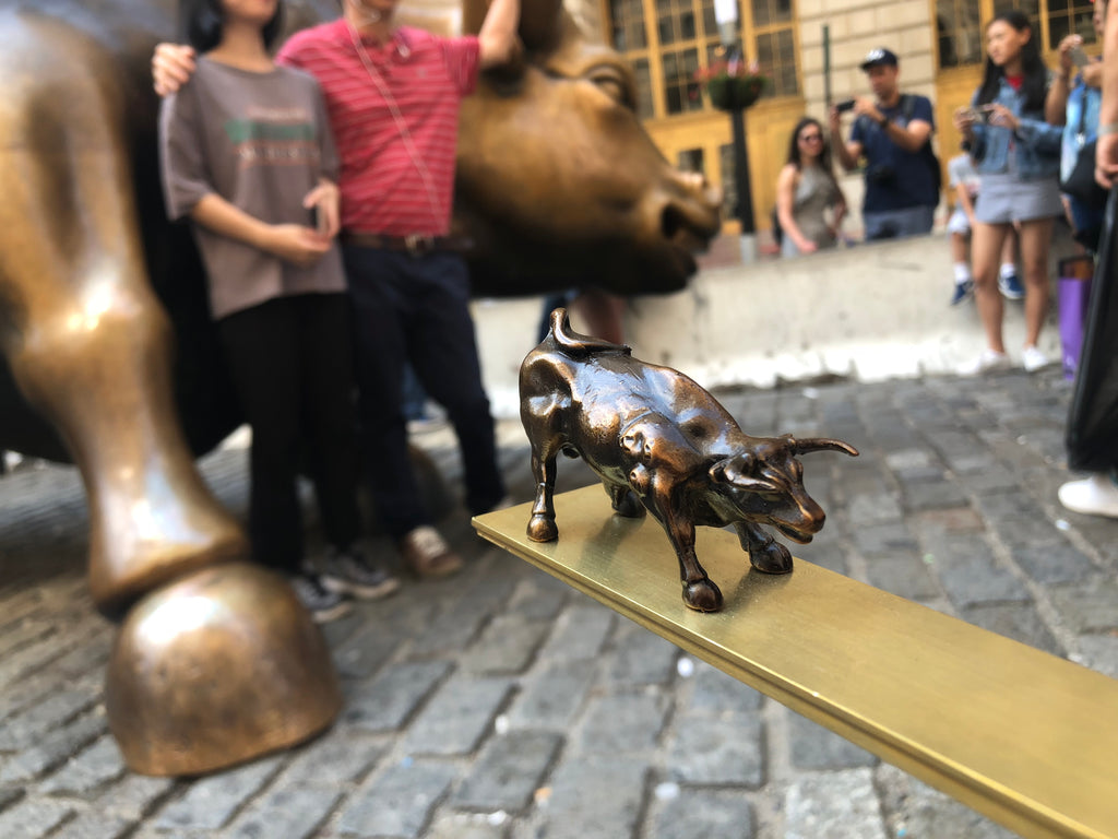 "A Visit To ""The Charging Bull"""