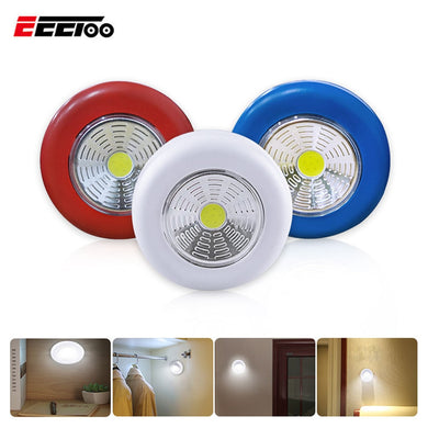 Touch Light Round LED Night Light