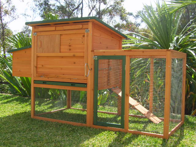 somerzby bungalow large coop hutch