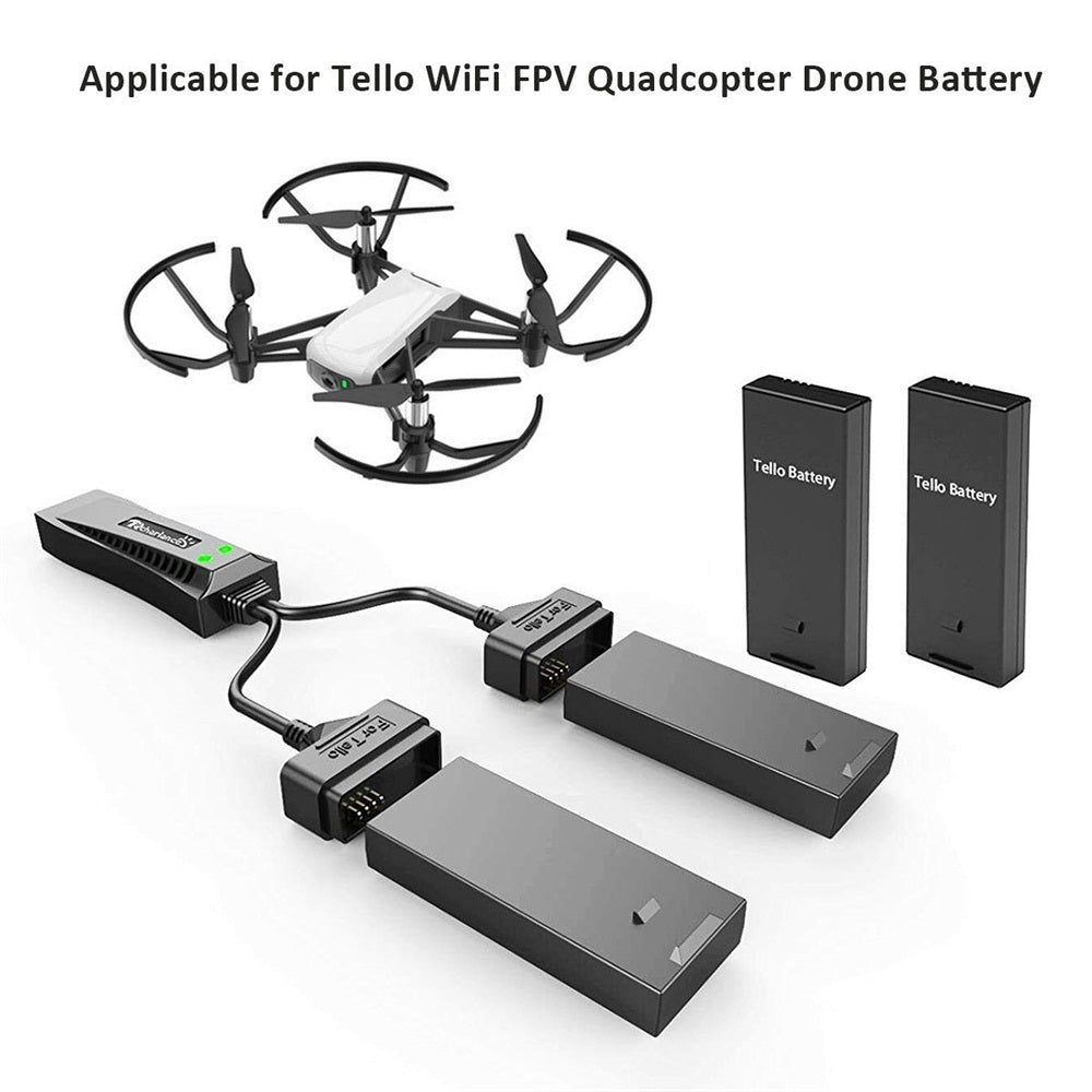 Tello Drone Battery Charger Quick Smart Charger Steward Charging Hub for WiFi FPV Quadcopter Drone