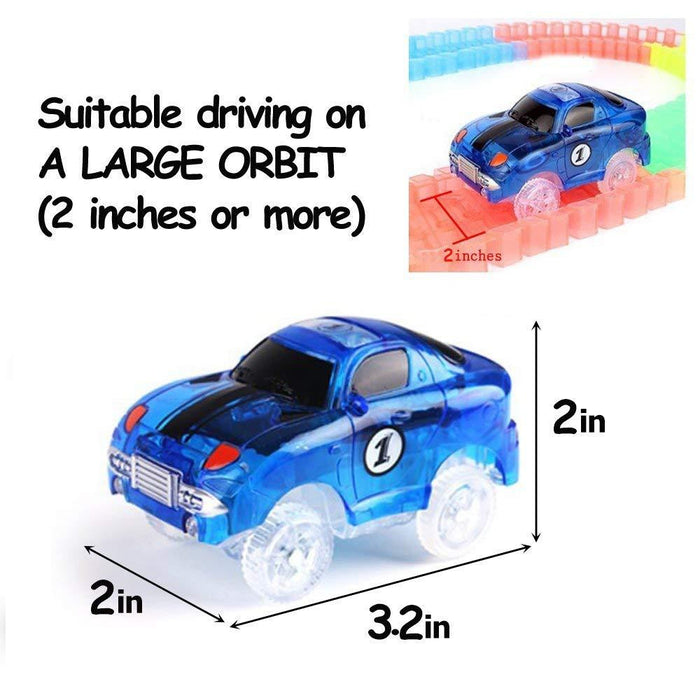 Car and Tracks, Magic Track Cars with 5 LED Lights