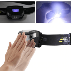 3000LM Motion Sensor Rechargeable LED HeadLamp