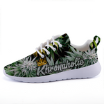 "Khronaholic ""Buds All Over"" CannaCrown Collection SuperCushion Sports Sneaker Shoes"