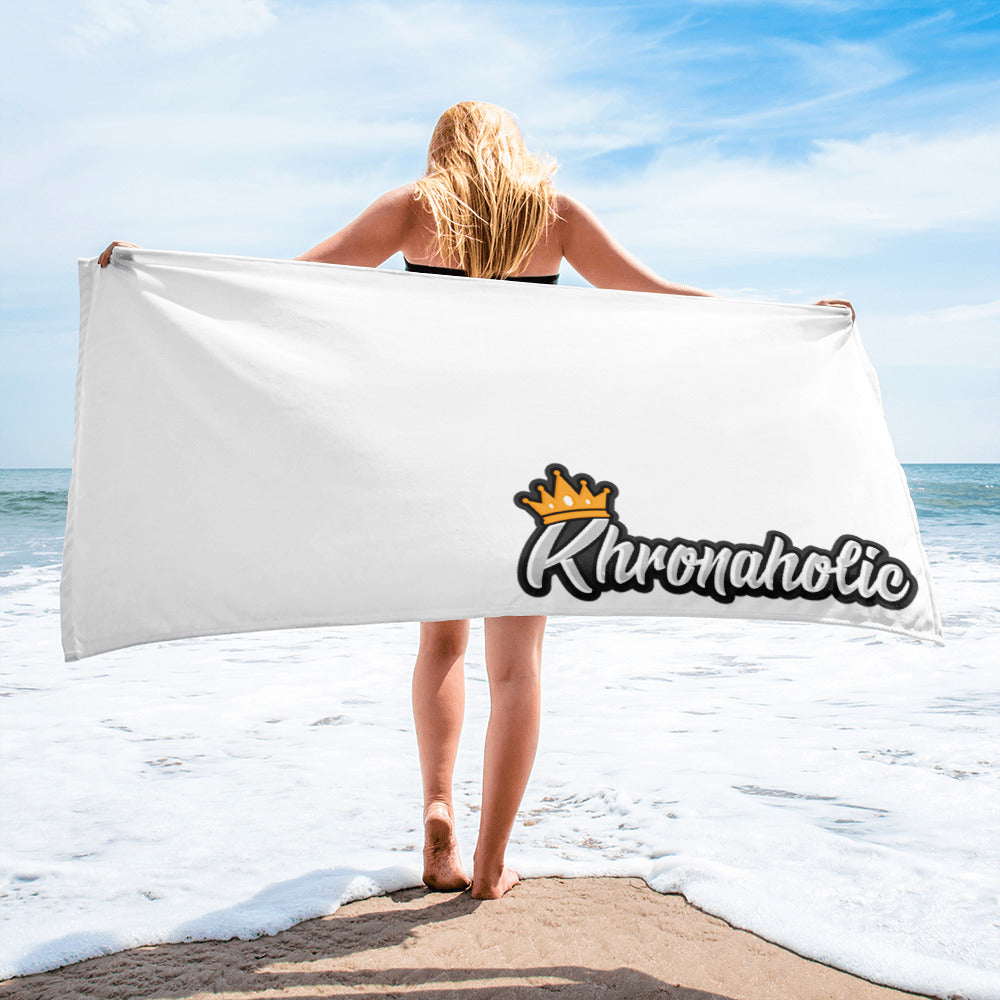 Khronaholic Korner Staple Bath Towel