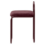Angui Chair Bordeaux
