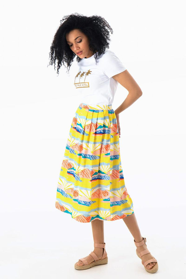 Emily and Fin Faye Skirt Long Paintbox Valley - Talis Collection