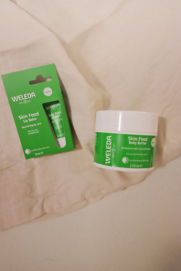 Weleda Skin Food Beautiful Lip and Body Bundle