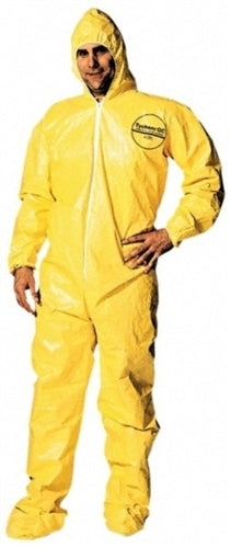 DuPont Yellow Tychem QC Chemical Protection Coveralls