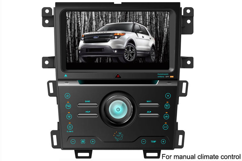 Ford EDGE Aftermarket GPS Navigation Car Stereo (2013-2014)