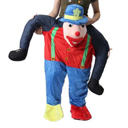 Hallowen Christmas Shoulder Carry Me Buddy Ride On A Shoulder Piggy Back Piggy Ride-On Fancy Dress Adult Party Costume Outfit