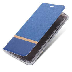 Flip Cloth Pattern Leather Full Body With Stand Protector Cover Case For DOOGEE MIX 2
