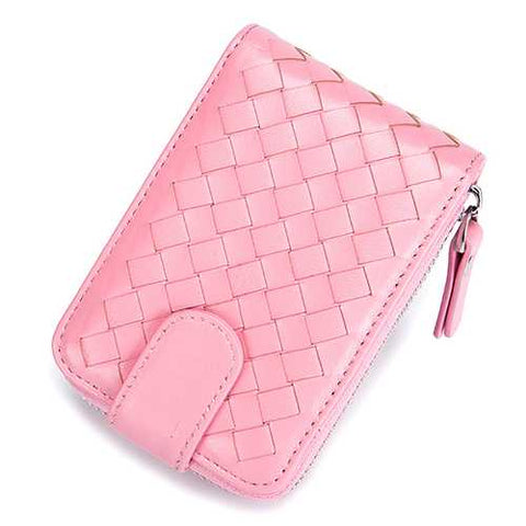 Women Men Genuine Leather Multifunctional  Handmade Wallet