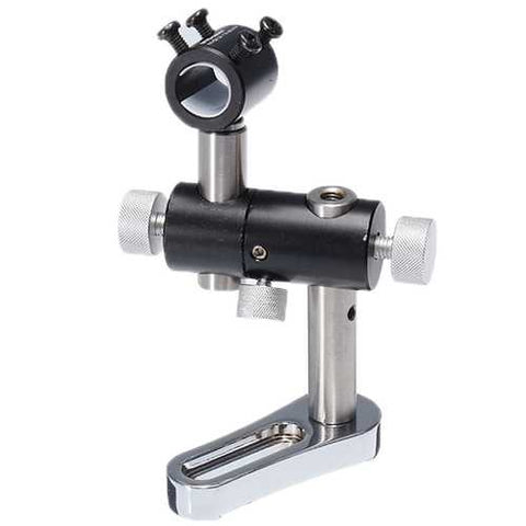 MTOLASER 13.5mm-23.5mm Triaxial 360° Adjustable Laser Pointer Module Holder Mount Clamp Three Axis Bracket