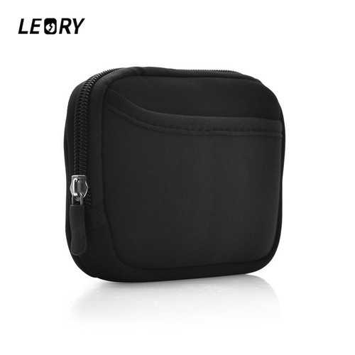 LEORY Pouch Cover For B&O BeoPlay P2 bluetooth Speaker Storage Mini Hard Nylon Bag With Hanging Hook