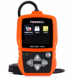 Foxwell NT201 OBD2 Auto Scanner Automotive OBD OBDII Engine Fault Code Reader Diagnostic Tool