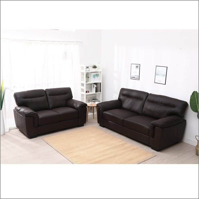 Meriden 3+2-Seater Sofas Set, Dark Mocha