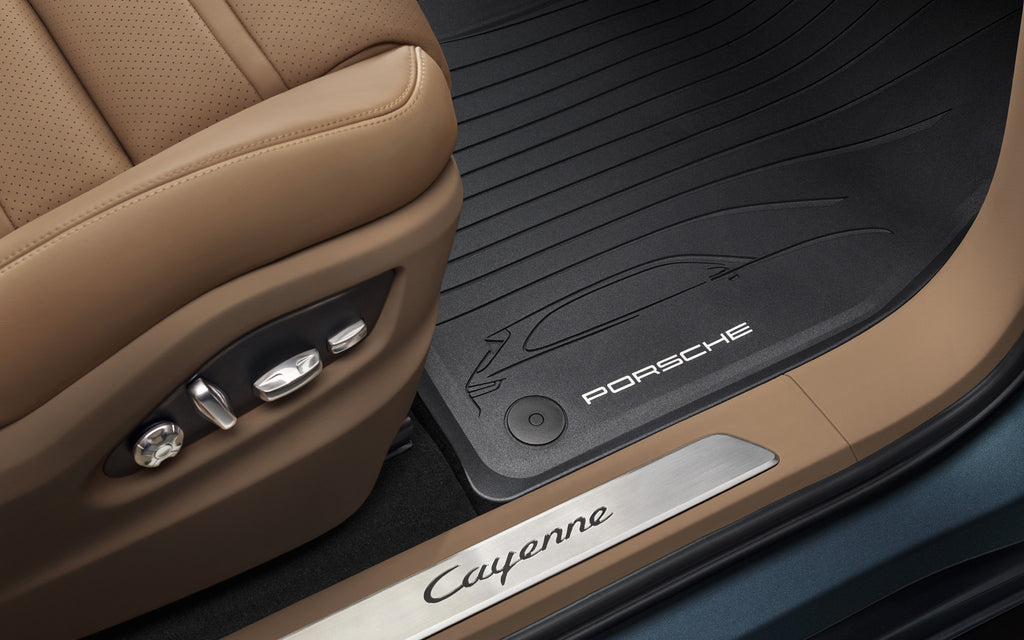 Porsche All-weather Floor Mats - Cayenne E3