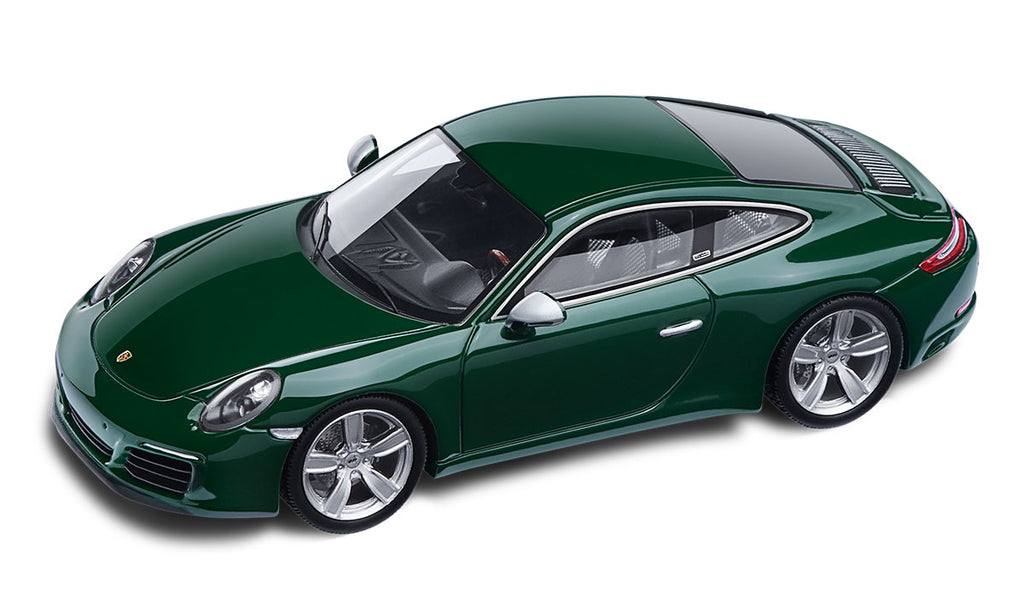 Porsche 911 S (991.2) Nr. 1,000,000 Special Model Car, Irish Green - 1:43 Scale