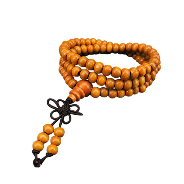 Natural Sandalwood Prayer Bracelet