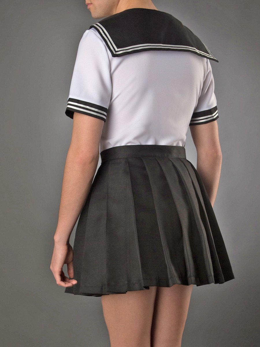 Cute Clipper Schoolgirl Set