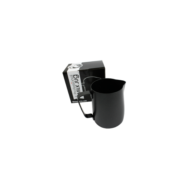 Rhino Stealth Milk Pitcher (360ml/12oz) (Black)