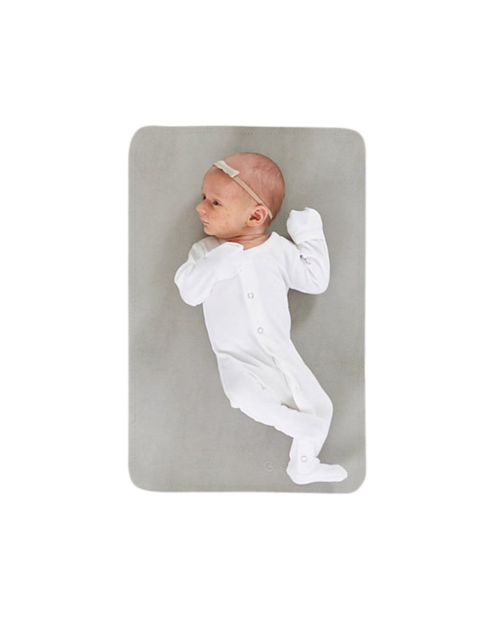 Little gathre baby accessories micro mat in pewter