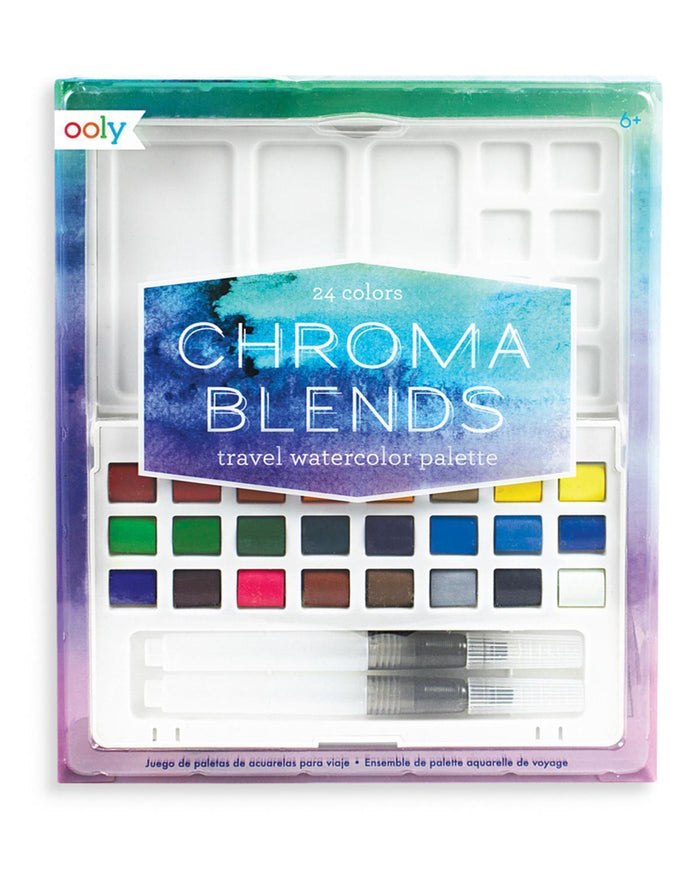 Little ooly play chroma travel watercolor set