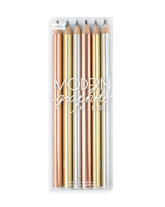 Little ooly play modern graphite pencils set